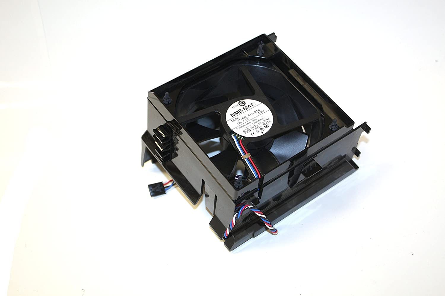 Genuine Dell H7058 PC Case CPU Cooling Fan Assembly For Dimension E310, E510, E520, E521, 3100, 5000, 5100, and 5150 Mini Tower (MT) Fan Part/Model Numbers: Y4574, U6368, 4715KL-04W-B56