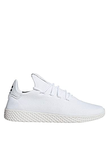 3081c22748e8 adidas Men s Pw Tennis Hu Gymnastics Shoes White  Amazon.co.uk ...