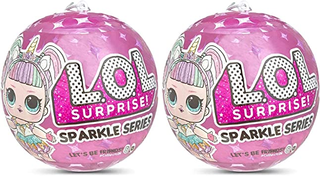 L.O.L. Pack 2 Bolas LOL Surprise Sparkle Series LOL Suprise Original 7 Sorpresas: Amazon.es: Juguetes y juegos
