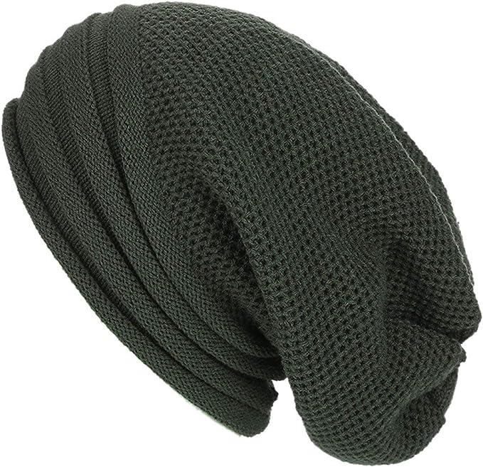MingDe Sports Winter Knitted Skullies Beanies Hat for Men Women Baggy Beanies Bonnet Homme