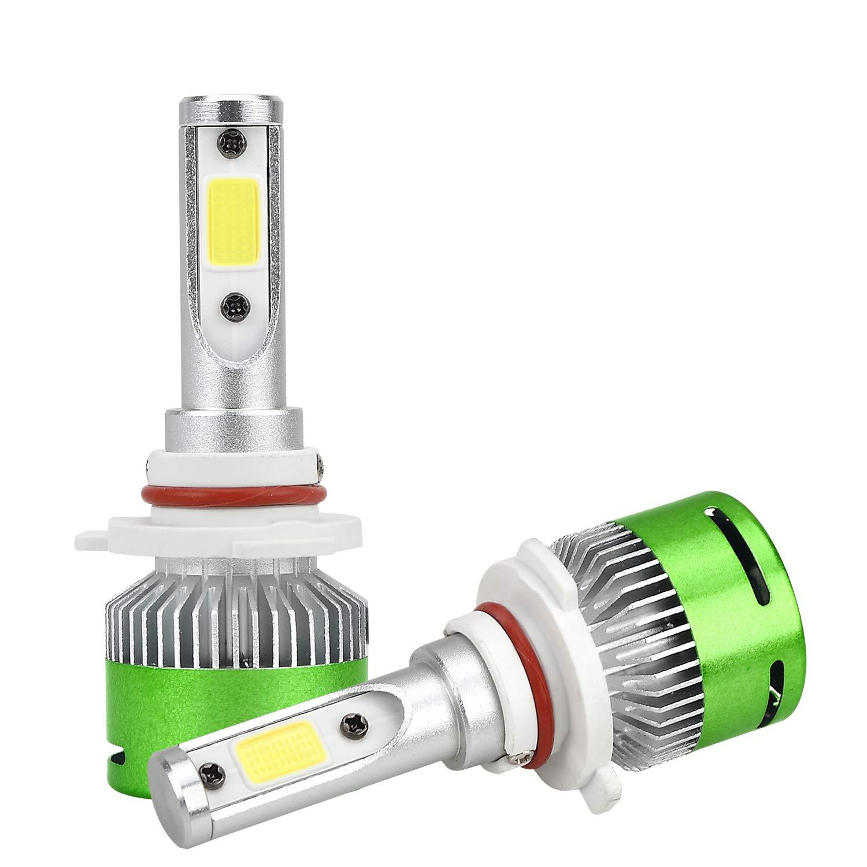 Green-L H1 Led Headlights, COB LED Chips Conversions Kits-6000LM 6000K Cool White Light Mini Size(1 Pair) COB LED Chips Conversions Kits-6000LM 6000K Cool White Light Mini Size( 1 Pair)