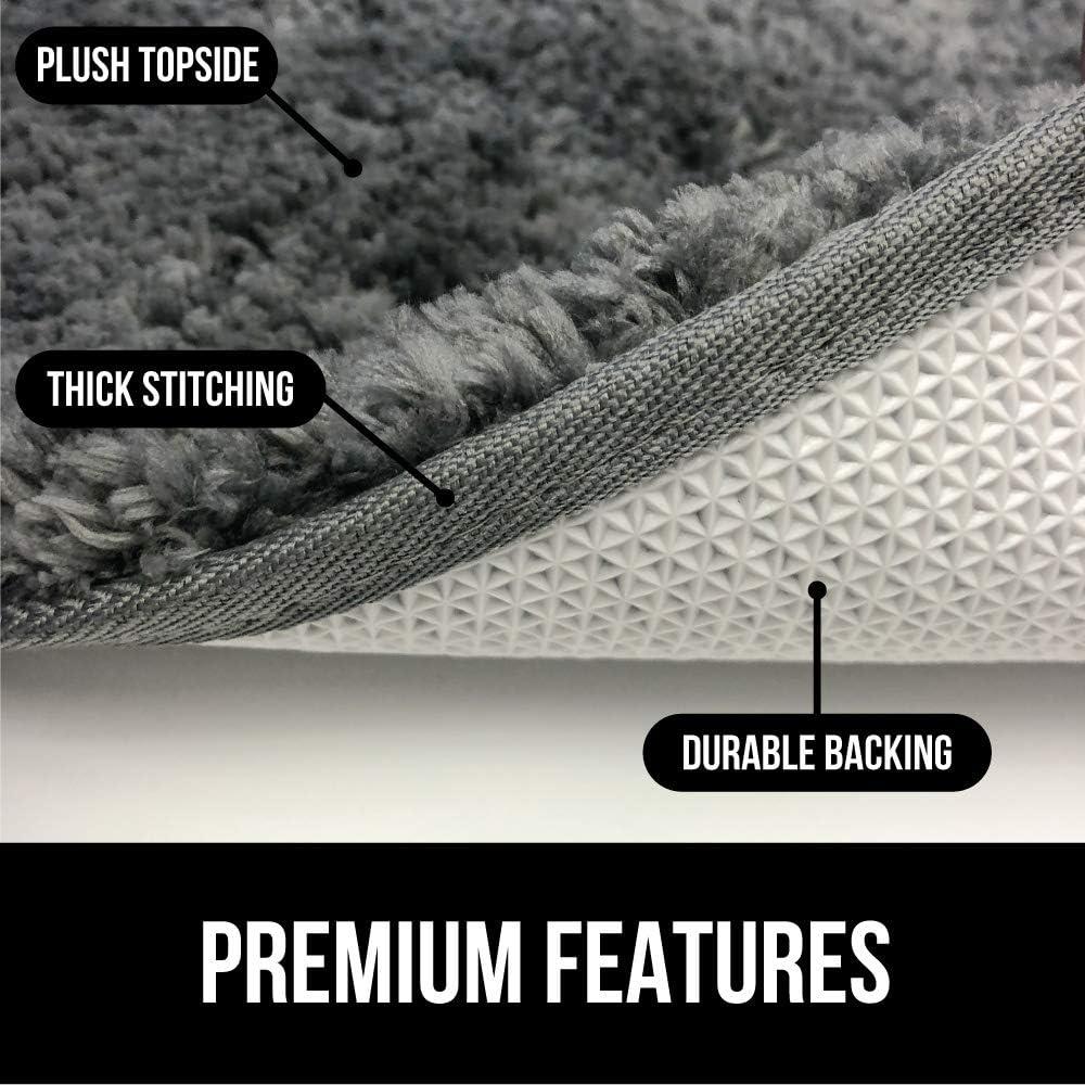 Gorilla Grip Original Premium Luxury Bath Rug, 30x20 Inch, Incredibly Soft, Thick, Absorbent Bathroom Mat Rugs, Machine Wash and Dry, Plush Carpet Mats for Bath Room, Shower, Hot Tub, Spa, Beige: Home & Kitchen