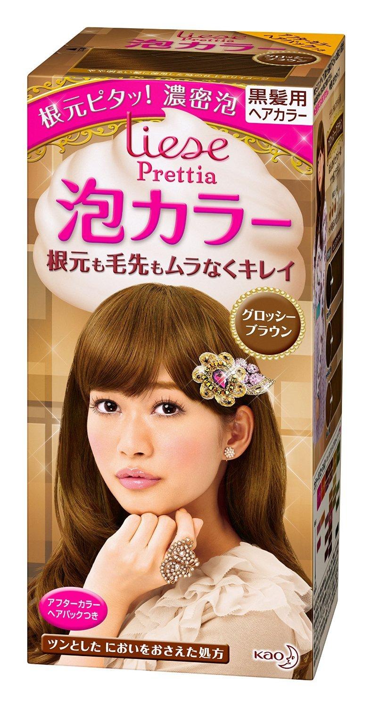 【花王】リーゼ プリティア 泡カラーグロッシーブラウン ×20個セット B00URALDKE