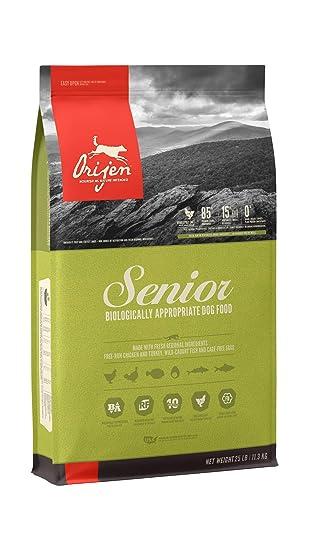 Senior Dog Food >> Orijen Senior High Protein Grain Free Premium Quality Meat Adult Dry Dog Food