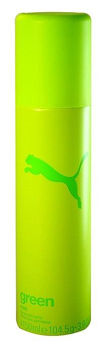 Absurdo Nathaniel Ward Aproximación  Puma Green Man Homme Deodorant Spray 150 ml Pack of 1 x 150 ml: Amazon.de:  Beauty