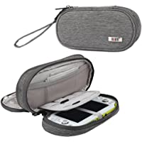 BUBM Double Compartment Storage Case Compatible with PS Vita and PSP, Protective Carrying Bag, Portable Travel Organizer…