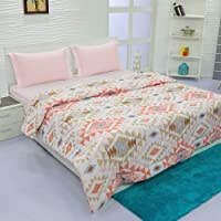 Aurome - Microfiber, Double Bed All Weather, A/C Comforter, (120 GSM) - Abstract Print, Multicolor