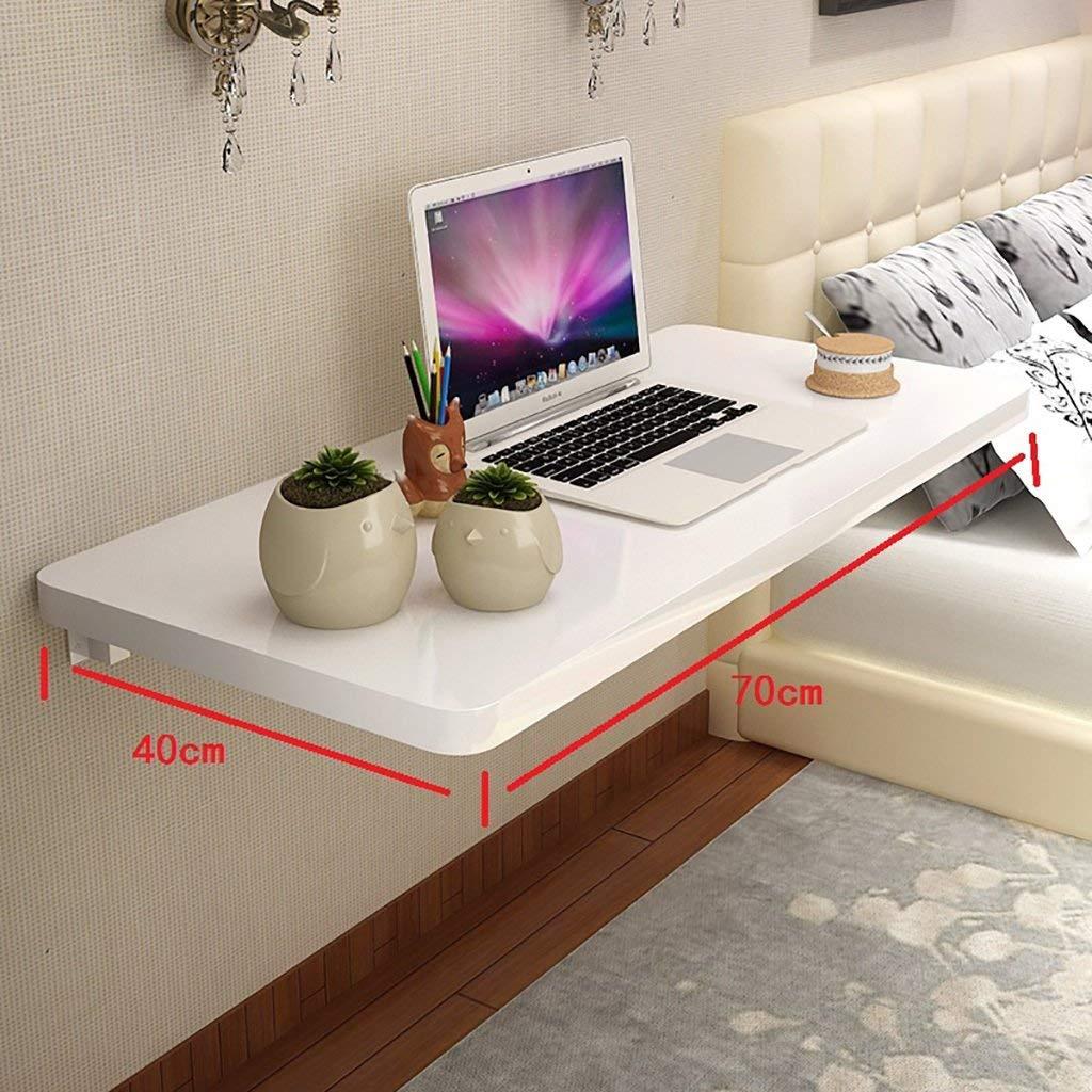 connotación de lujo discreta 7040cm Wghz Wghz Wghz Escritorio de Aprendizaje de Mesa de Cocina montado en la Parojo de Cocina de Piano, Mesa Plegable de Metal, Stent, blancoo (tamaño  90  40 cm)  el más barato