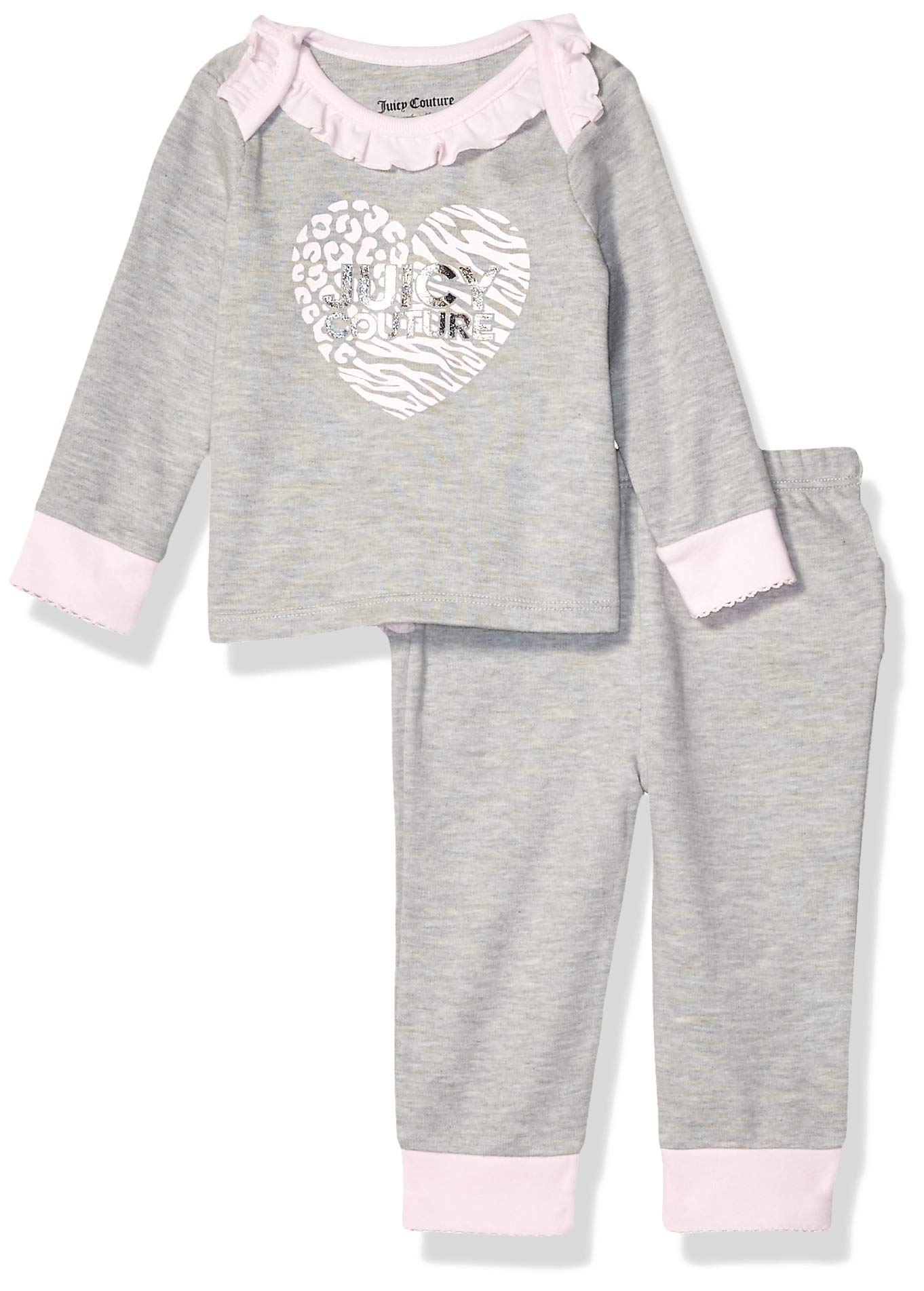 Juicy Couture Baby Girls 2 Pieces Pants Set