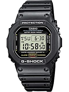 ea2ce8896bf8d Casio Men s G-shock DW5600E-1V Shock Resistant Black Resin Sport Watch