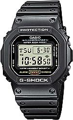 Casio Men's G-Shock Quartz Watch with Resin Strap, Black, 20 (Model: