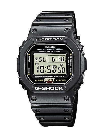 e9ded9fd4492 Reloj CASIO G-SHOCK DW-5600E-1V Cronógrafo