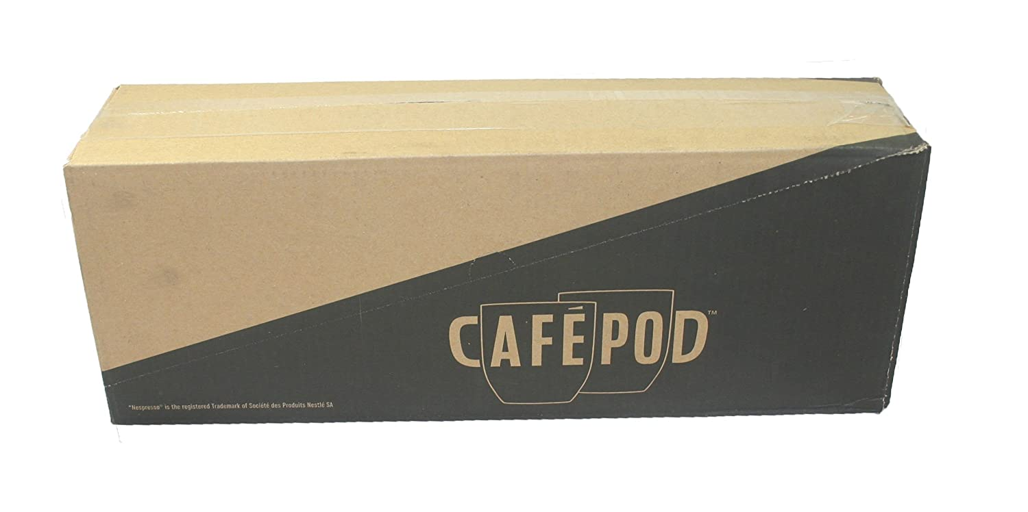 Amazon.com : CafePod Cafapod 10 Supercharger Espresso Nespresso Compatible Capsules (Pack Of 10 Total Of 100 Capsules) : Grocery & Gourmet Food