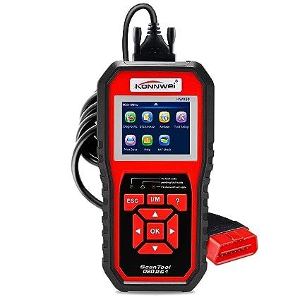 Vehicle Code Reader >> Amazon Com Partol Obd2 Scaner Obdii Auto Diagnostic Code