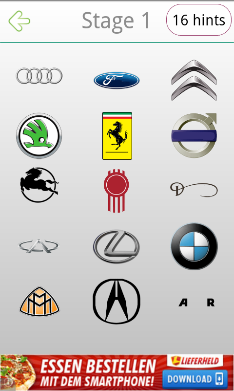 Amazon Com Logo Quiz Car Appstore For Android