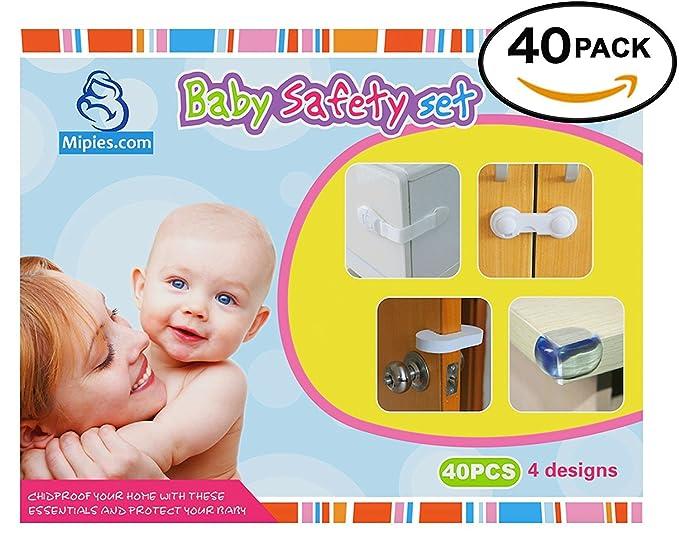 37 opinioni per Set di sicurezza da bebè, 40pezziContenuto della confezione:20protezioni per