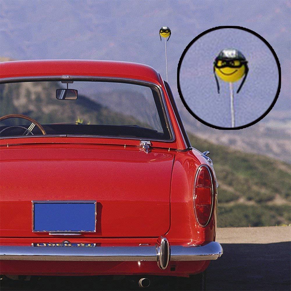 Halloween Best-Bag Funny Car Antenna Topper Lightweight EVA Foam Aerial Ball Decorative Antenna Hat Pencil Decor Cap