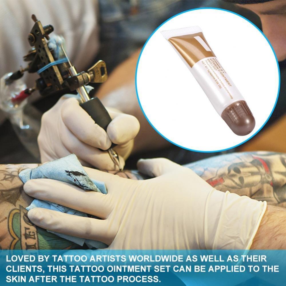 Crema curativa para tatuajes, crema anticicatrices, 10 unidades ...