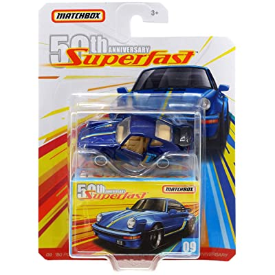 Matchbox 50th Anniversary Super Fast '80 Porsche 911 Turbo: Toys & Games