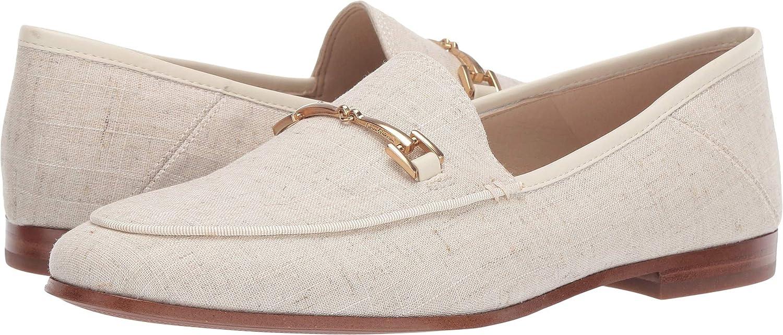 Natural Light Linen Sam Edelman Women's Loriane Loafer Flats