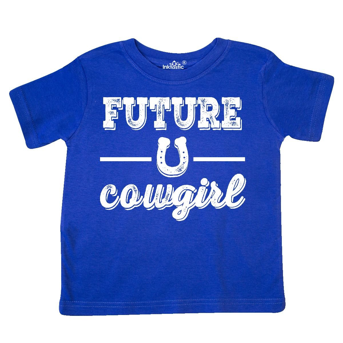 inktastic Future Cowgirl Girls Toddler T-Shirt