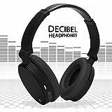 CHKOKKO Decibel Over-Ear Wireless Bluetooth High Bass Oval Headphones With Mic