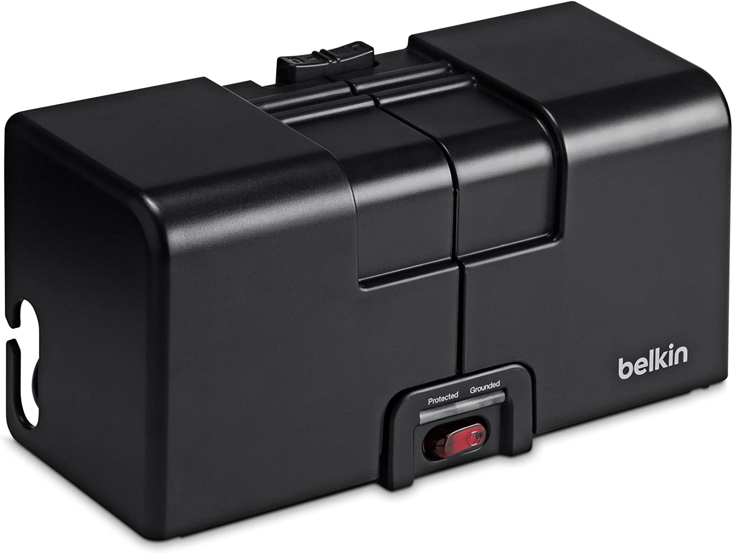 Belkin 8-Outlet Surge Protector with Power Cord Organizer, Designed for Office and Conference Room