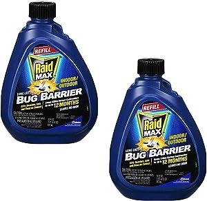 Raid Max Bug Barrier Pesticide Refill, 30 OZ (Pack - 2)
