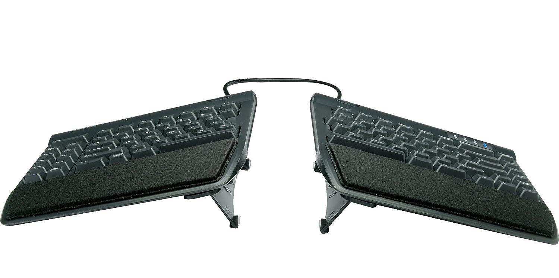 bc4fda02362 Amazon.com: Kinesis Freestyle2 Ergonomic Keyboard w/ VIP3 Lifters for PC  (9