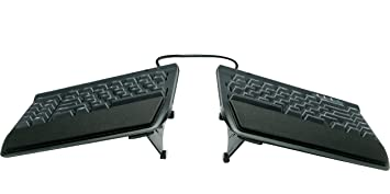 Kinesis Freestyle2 Teclado ergonómico w/VIP3 - Levantador para PC (9 ...