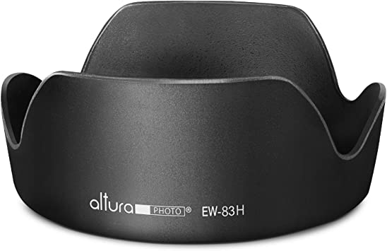EW-83G EW-83G Black Plastic Camera Lens Hood Mount Replacement for Canon EF 28-300mm f//3.5-5.6L is USM Lens Serounder Lens Hood