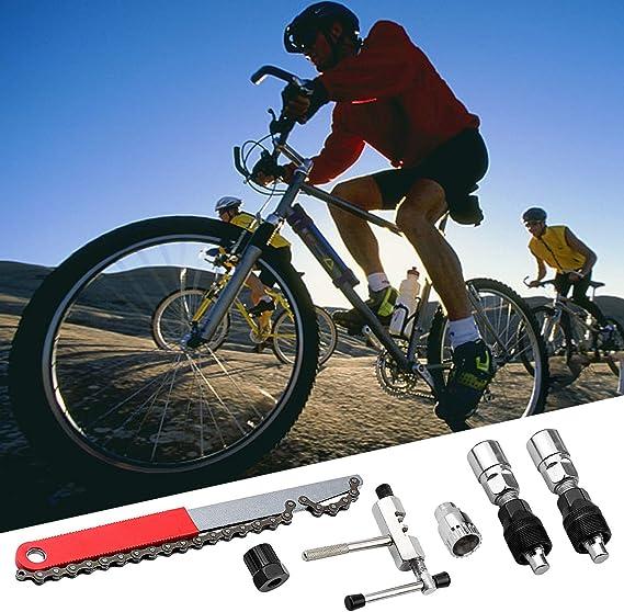 HANTEK 5 en 1 Kit de Herramientas de Reparacion de Bicicleta ...