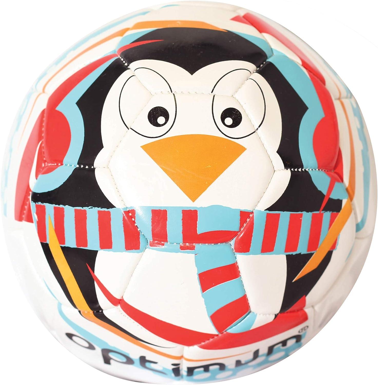 Jungen OPTIMUM Optimale Jungen Weihnachten Pinguin Fu/ßball OFCPEN3