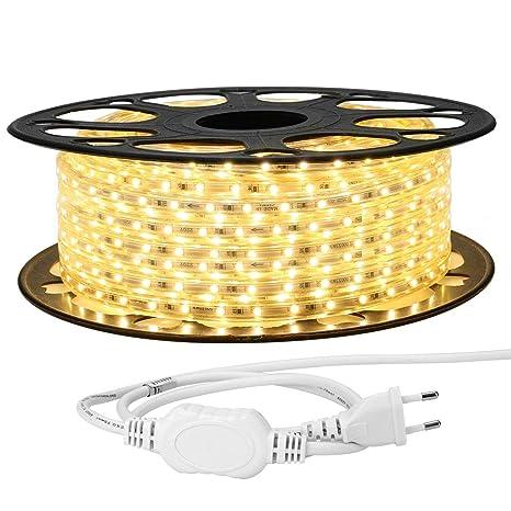 LE - Tira de luces LED (20 m, 3528 ledes SMD, 220 V