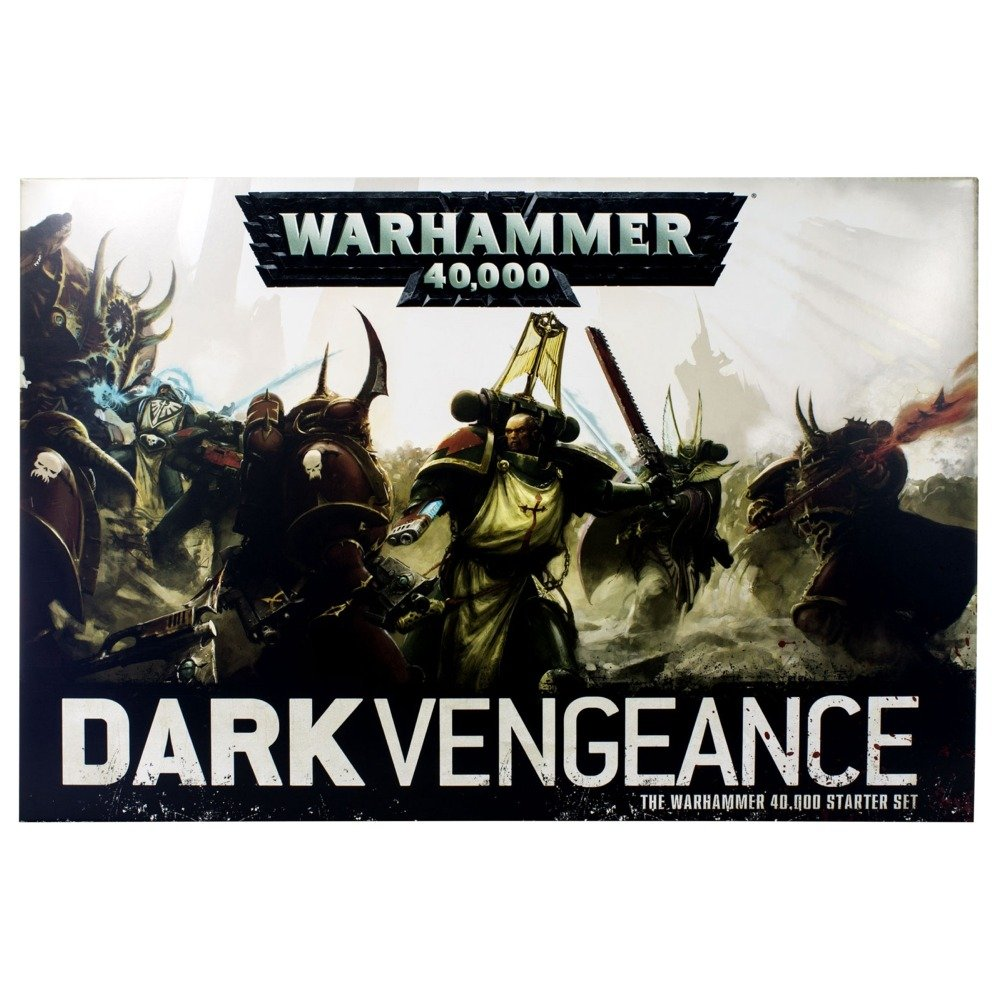 garantía de crédito Dark Vengeance Warhammer 40K 40K 40K nuovoest Edition 2014 by Games Workshop  mas barato