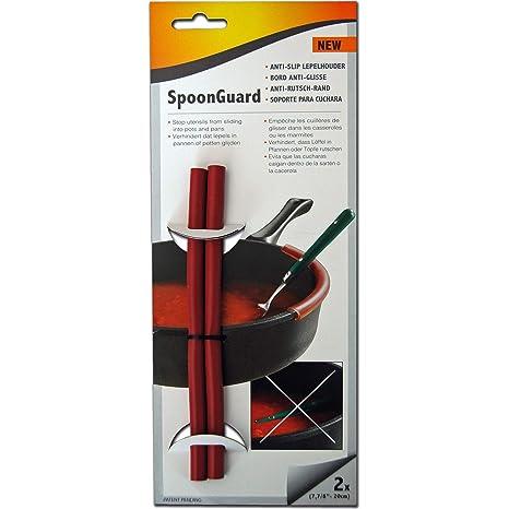 SpoonGuard - protector de cuchara - anti-de silicona para: evita que se deshilache