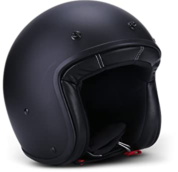 Rebel Cascos de moto casco, color negro, tamaño XXL (63 – 64 cm