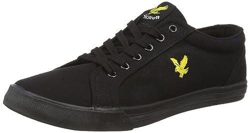 0dce4bfe04705 Lyle & Scott Men's Halket Canvas Low-Top Sneakers