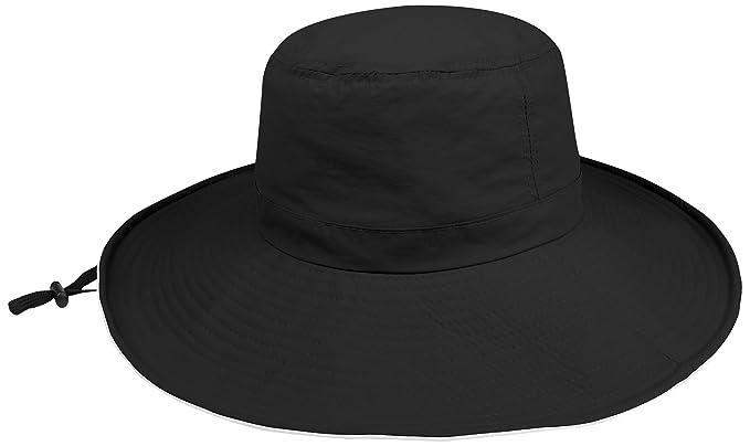d4498a8c6237a4 Amazon.com: Juniper Women's Taslon UV Wide Brim Bucket Hat, One Size ...