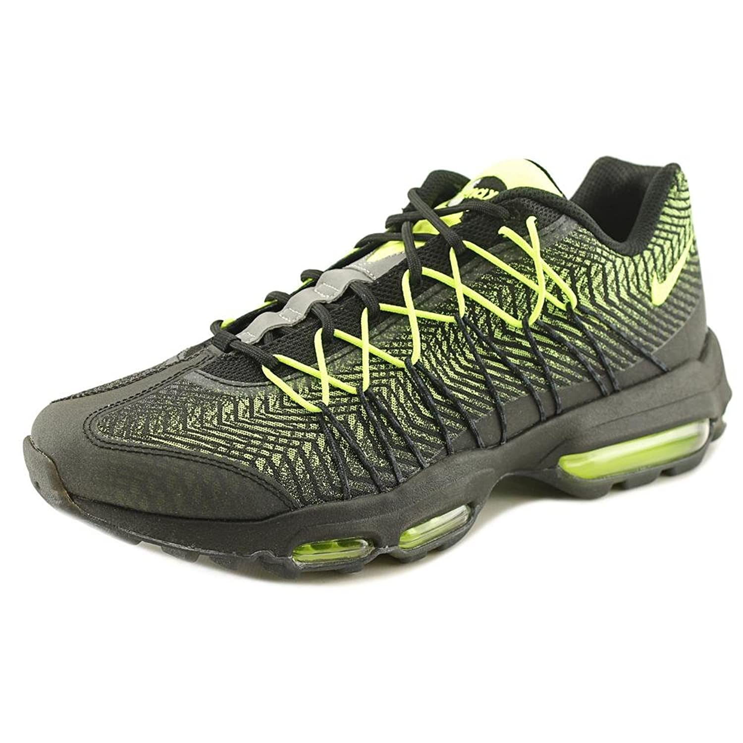 new arrival adbfb d5bc0 ... new style nike air max 95 ultra jacquard men us 11 black running shoe  be9a6 fff38