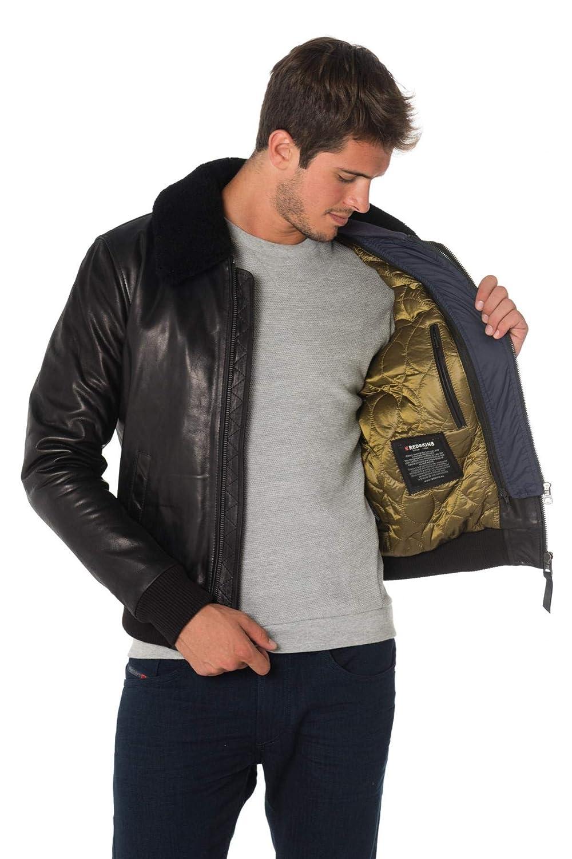 Redskins Blouson Commander Striking Black h19  Amazon.fr  Vêtements et  accessoires a6f938cc2e3