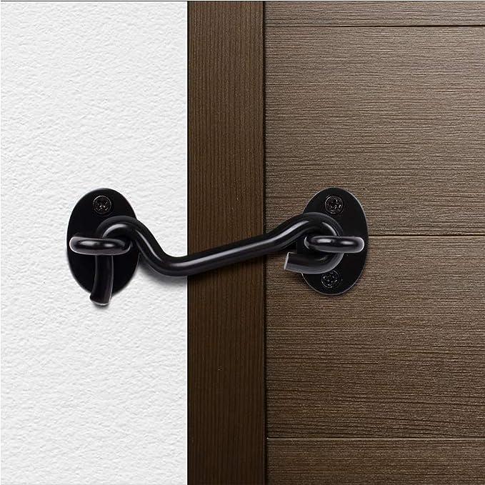 HOTEU - Gancho de acero inoxidable resistente para puerta de ...