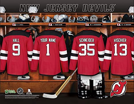 Amazon.com   Personalized New Jersey Devils Wall Poster a8130816d