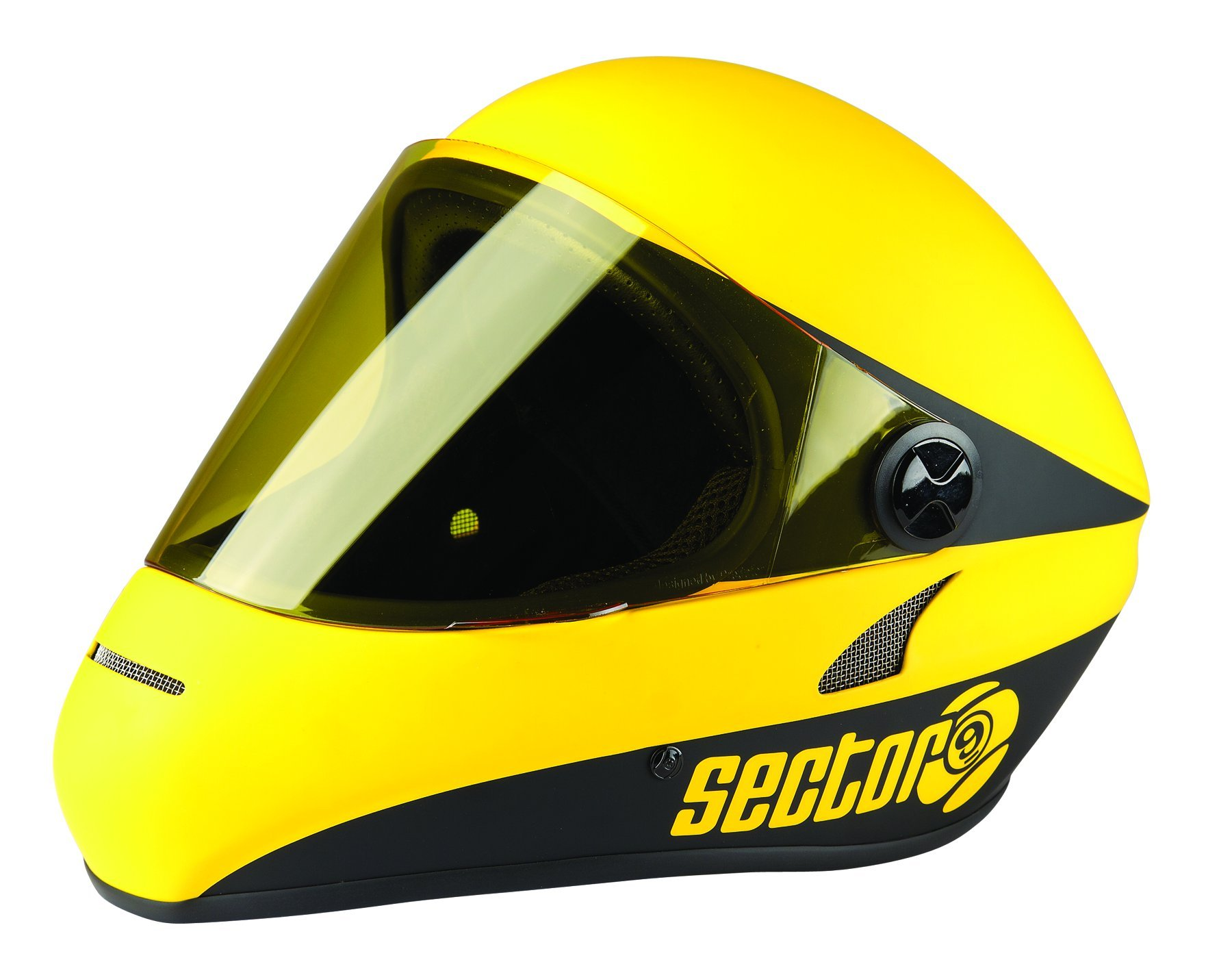 Sector 9 Drift Downhill Full Face Helmet, Yellow by Sector 9