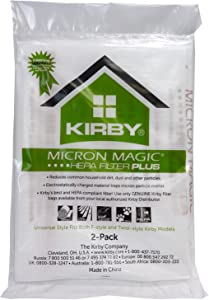 Kirby Hepa Mm Plus, 204814 (6 Pack)