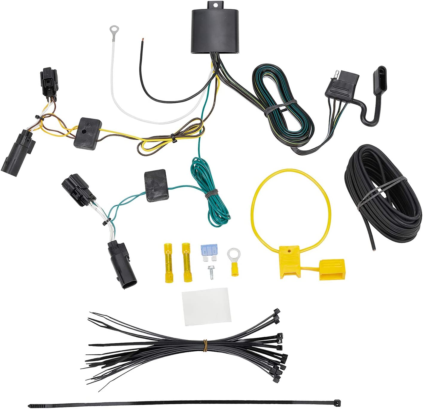 Tekonsha 118764 T-One Connector Assembly with Upgraded Circuit Protected ModuLite HD Module