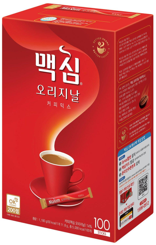 Maxim Original Korean Coffee - 100pks Dongsuh