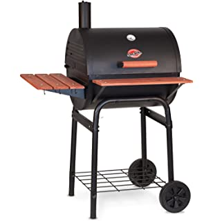 High Quality Char Griller 2123 Wrangler 635 Square Inch Charcoal Grill / Smoker