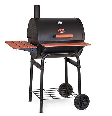 Char-Griller E2123 Wrangler Charcoal Grill/Smoker