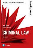 Law Express: Criminal Law (English Edition)